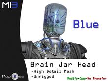 [MB3] Brain Jar Head - Blue