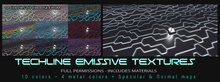 [RoS] Techline Emissive Textures