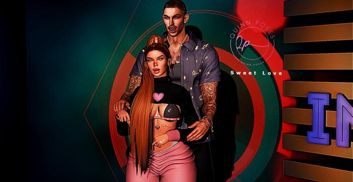 ...!!! Quinn Poses - Sweet Love