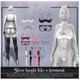 #EMPIRE - Diamond Leg Band - Maitreya