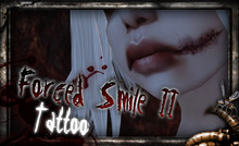 REPULSE - Forced Smile II Face Tattoo
