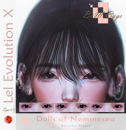 Nemmesea * Dolls Shapes * - EyeBags #1 (Lel Evo X) BOM