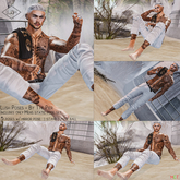 Lush Poses - By The Pier - Men Pose Pack