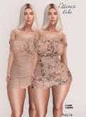 :ESSENCE:Boho kupra dress set 1