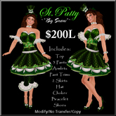 ~*By Snow*~ St.Patty Dress