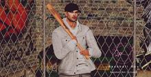 ...!!! Quinn Poses - Baseball Boy