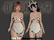 Bipolar - Cow Set - White