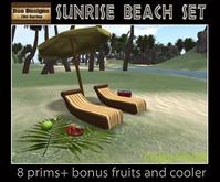 110 OFF! Sunrise Beach set -beach furniture -tiki furniture -pool furniture -deck
