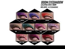 XS Primal Doom Eyeshadow LeLutka EvoX