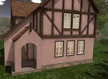 AfterImage Design Front Entrance for Eikelen ChatetBoxed