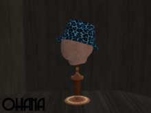 Ohana Bucket Hat Leopard Blue (WEAR TO UNPACK)