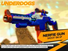 [UnderDogs] - Nerfie Combat Rifle - Shoot Em Up