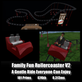 Family Fun Rollercoaster V2 *0.313ms* low lag smooth non-physics