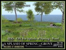 TMG - A SPLASH OF SPRING - GROVE - ADD-ON*