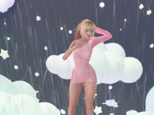 [Petite Pastels] Soaked Dress Baby Pink