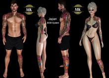 MK Tattoo - JAPAN