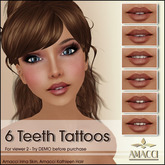 Amacci - Teeth Tattoos