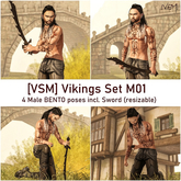 [VSM] devil inside... Vikings Set M01  (wear or rezz)
