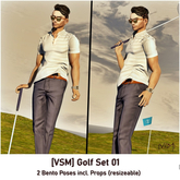 [VSM] devil inside... Golf Pose Set 01 - (wear or rezz)