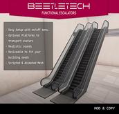 ::BeetleTech:: Escalators  (Brushed Metal)