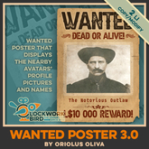 ★ NEW ★ Wanted Poster 3.0 - a profile picture joke / April Fool's Day prank