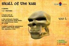 Skull of the Kur