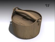 Wooden Bucket 003