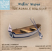 {what next} 'Makin' Waves' Wearable Row Boat (boxed)