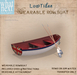 {what next} 'Low Tides' Wearable Row Boat (boxed)