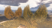 LB Cypress Oak v2 Animated 4 Seasons