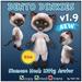 * Tiny Inc * Siamese Dinkie Cat v1.9 Bento