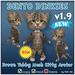 * Tiny Inc * Brown Tabby Dinkie Cat v1.9 Bento