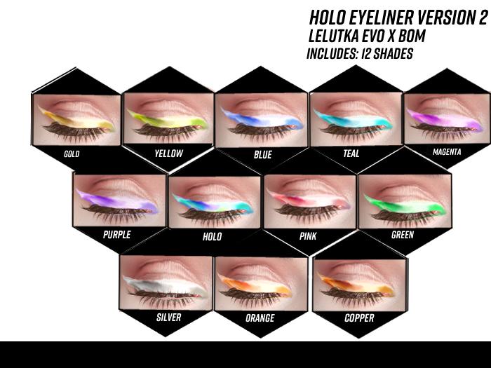XS Primal Holo Eyeliner LeLUTKA EvoX Version 2
