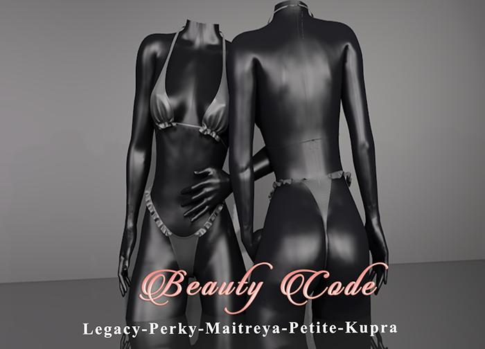 *Beauty Code* - Bikini Lana - Black