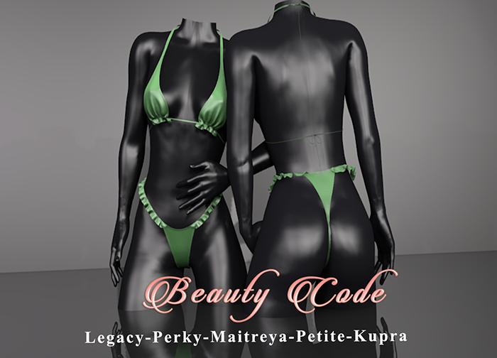 *Beauty Code* - Bikini Lana - Green