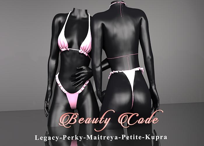 *Beauty Code* - Bikini Lana - Pink