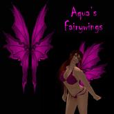 Aqua's Fairy Wings pink