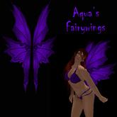 Aqua's Fairy Wings purple