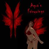 Aqua's Fairy Wings red