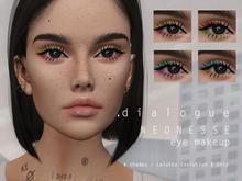 DIALOGUE Neonesse eyeshadown + liner for Lelutka EvoX 3.0