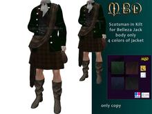 Scotsman in Kilt only for Belleza, Jack mesh body