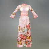Pink Saigon Maitreya Ao Dai