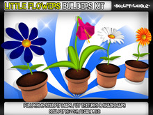 ♥Little Flowers Builders Kit♥ 10% OFF