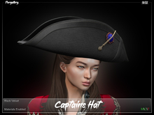 Purgatory. - Captains Hat Black Velvet
