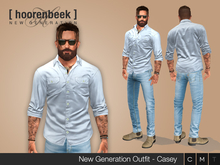 Complete Outfit - Casey - Signature, Legacy, Belleza, SLink, Classic Avatar