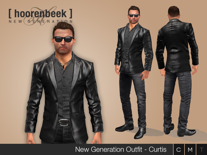 Complete Outfit - Curtis - Signature, Legacy, Belleza, SLink, Classic Avatar
