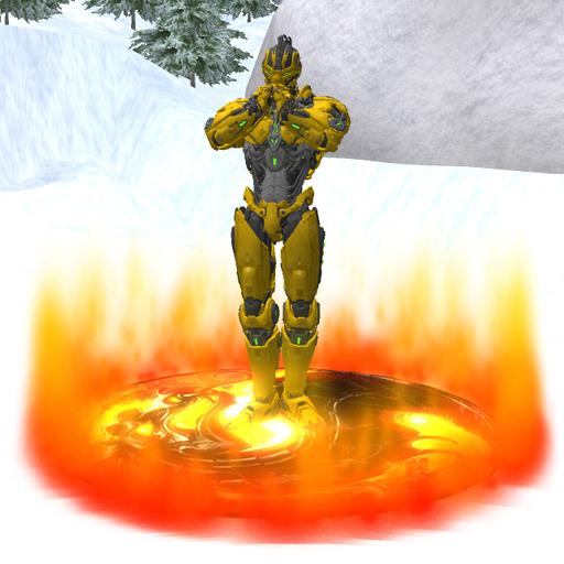 Mortal Kombat WALKER DISK Red Fire