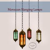 {CdB} Moroccan Hanging Lamps