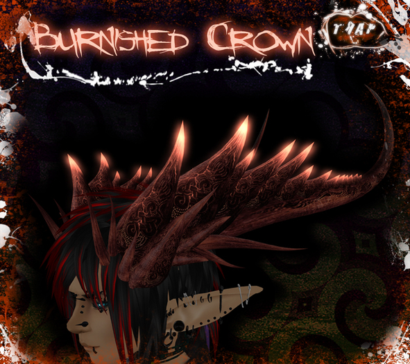 [][]Trap[][] Burnished Demon Crown