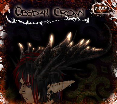 [][]Trap[][] Obsidian Demon Crown